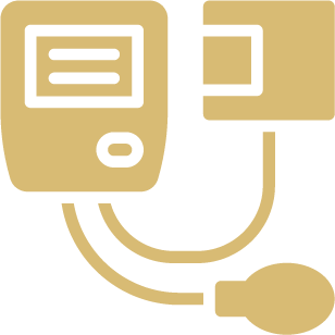 Blood pressure icon.