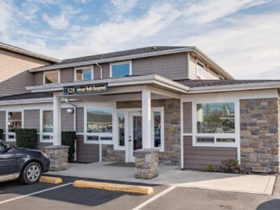 Entrance to the Seattle Vascular location in Sequim.
